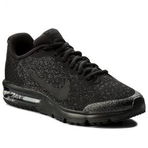 Nike Air Max Sequent 2 Black Size 8 M Shoes
